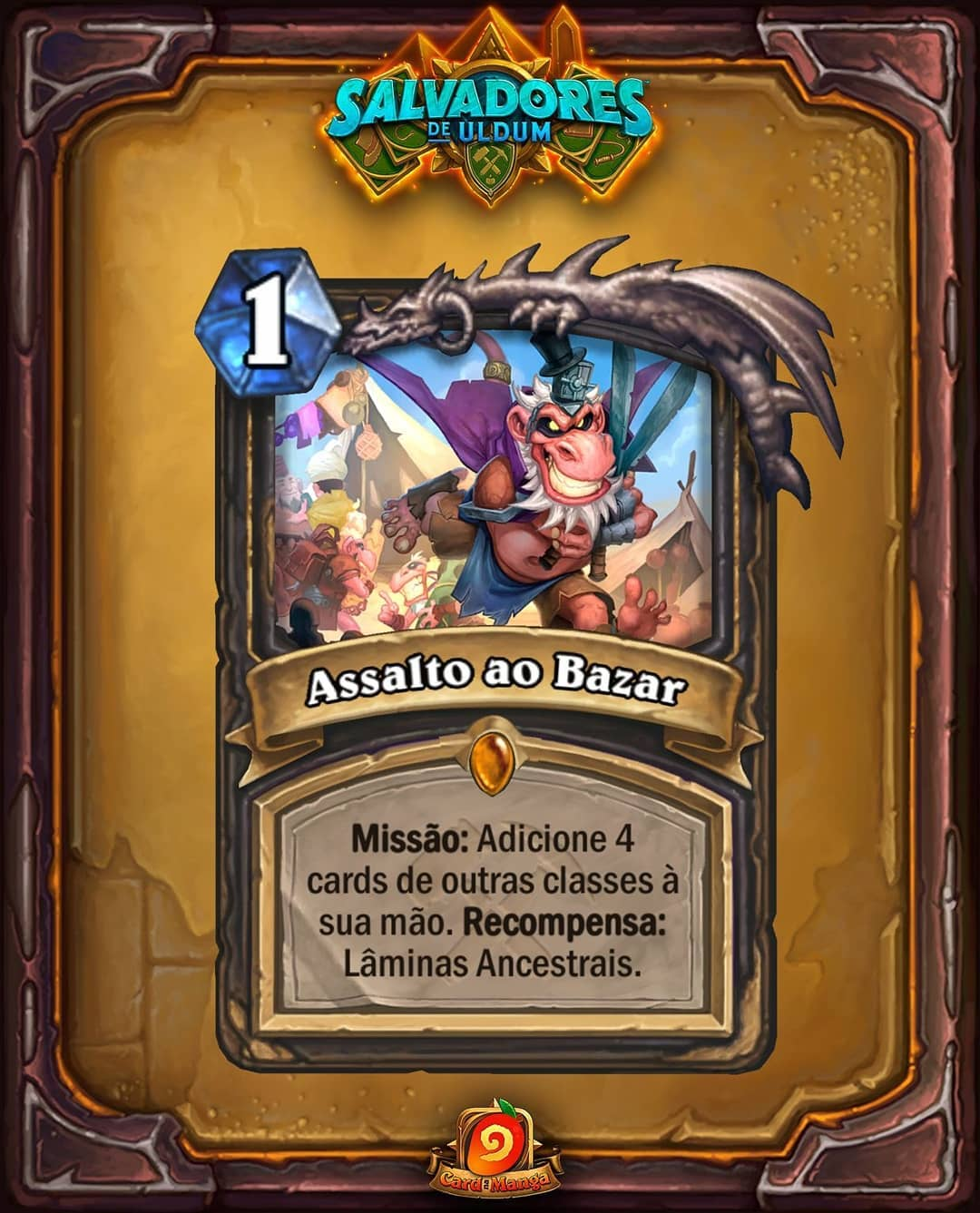 Assalto ao Bazar - Card Reveal