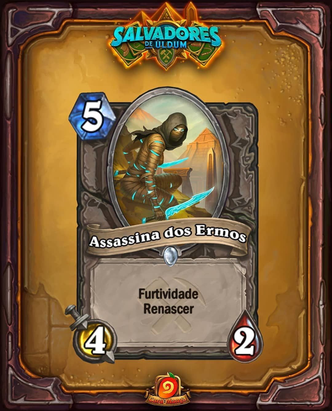 Assassina dos Ermos - Card Reveal