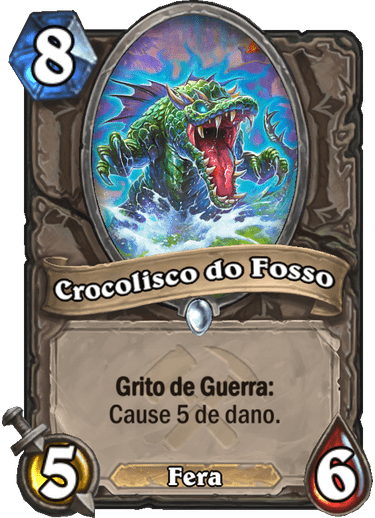 Crocolisco do Fosso - Card PTBR
