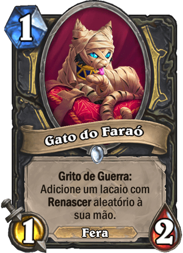 Gato do Faraó - Card PTBR 01