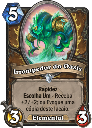 Irrompedor do Oasis - Card PTBR