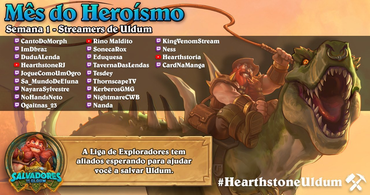 Streamers de Hearthstone