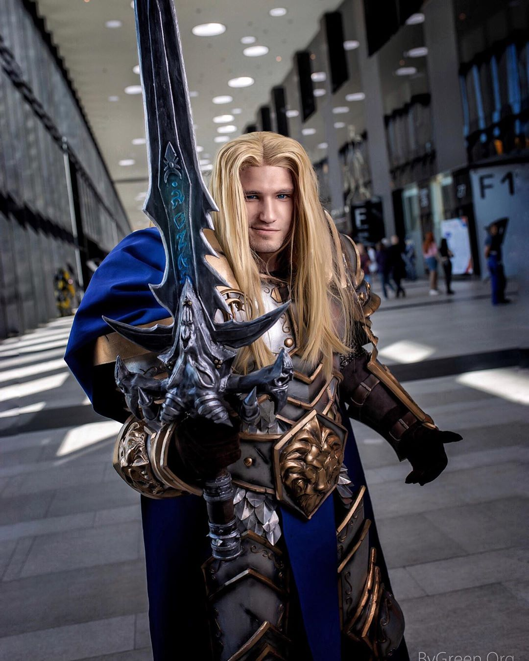 Arthas Cosplay World of Warcraft