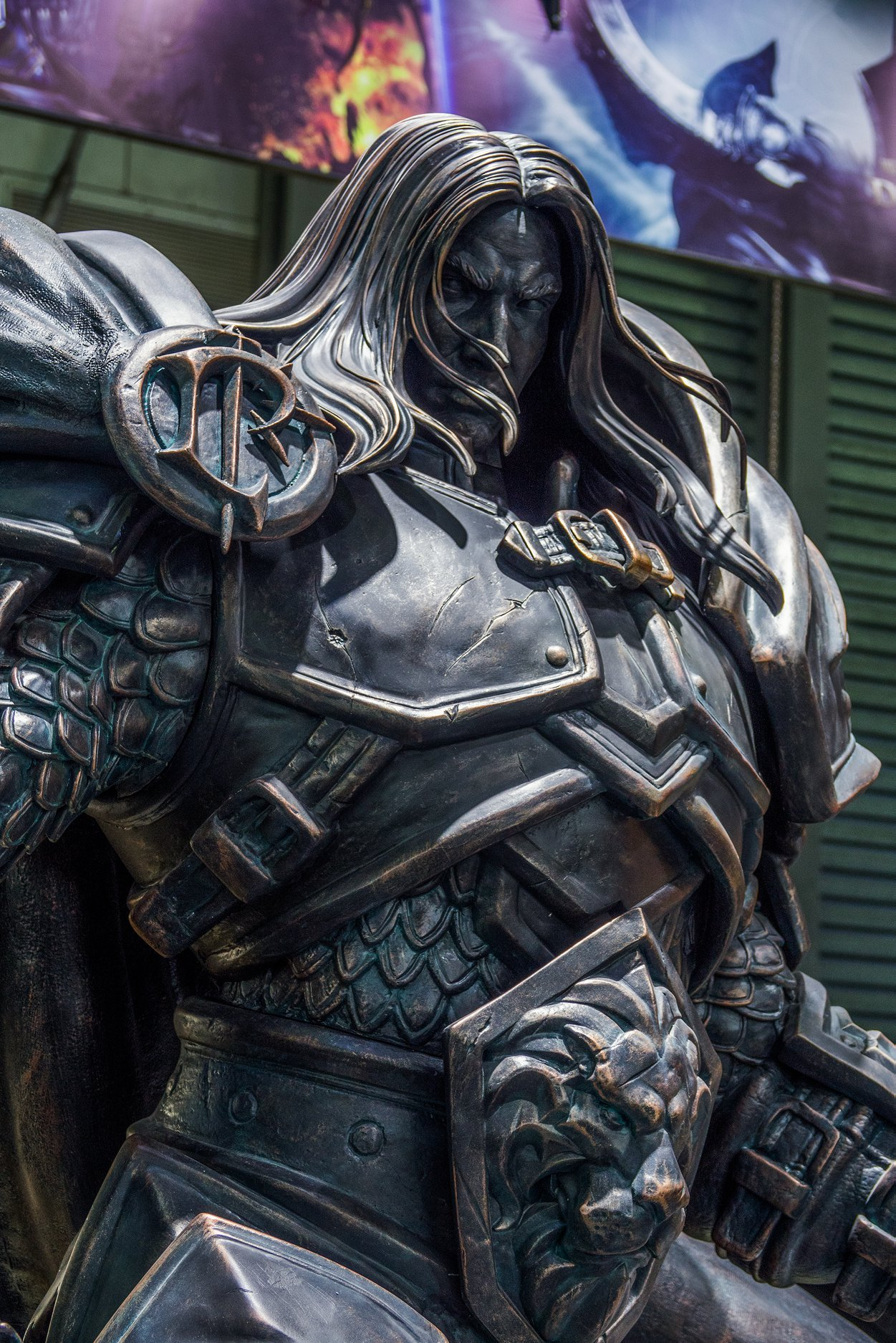 Estátua do Arthas na ChinaJoy 2019 - 02