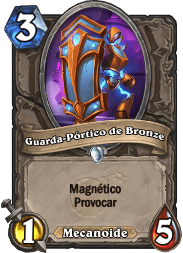 Guarda-Pórtico de Bronze - Card PTBR 01