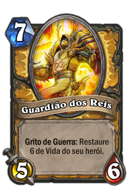 Guardião dos  Reis - Card de Hearthstone