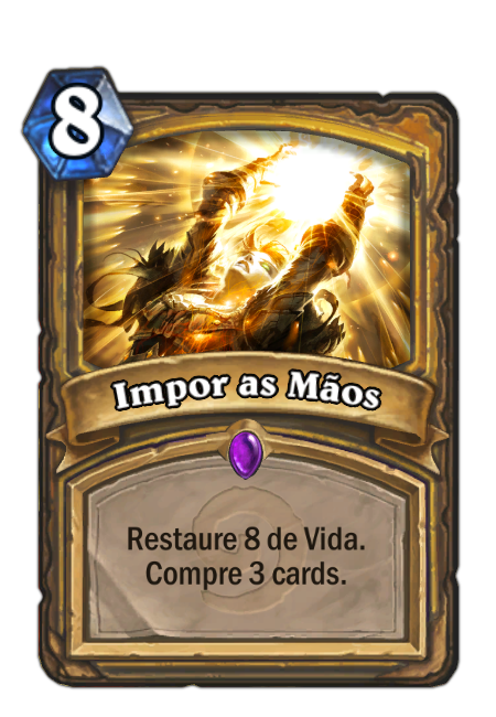 Impor as Mãos - Card de Hearthstone