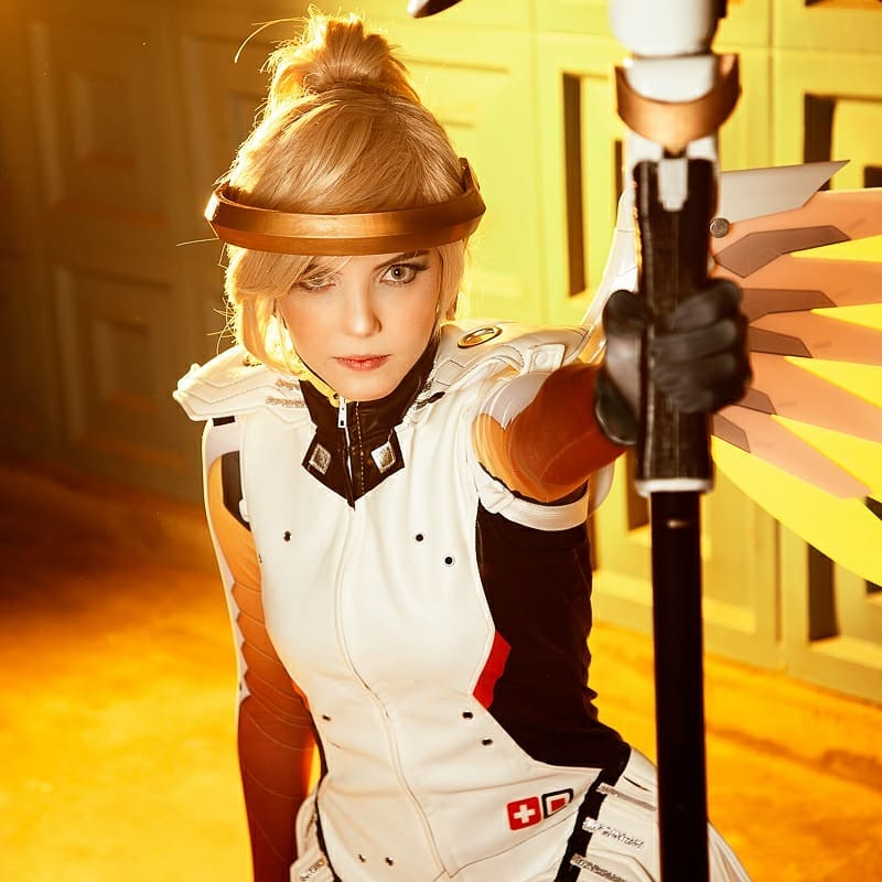 Cosplay da Mercy - Overwatch - Foto 02