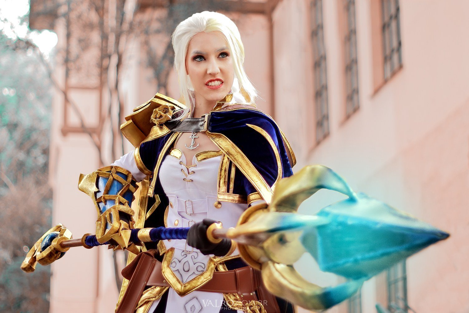 Cosplay incrível da Jaina Proudmoore - World of Warcraft Battle for Azeroth - 01