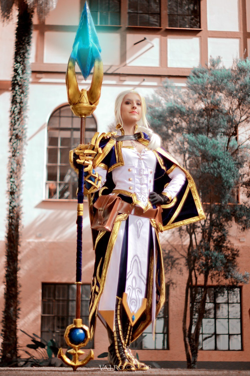 Cosplay incrível da Jaina Proudmoore - World of Warcraft Battle for Azeroth - 02