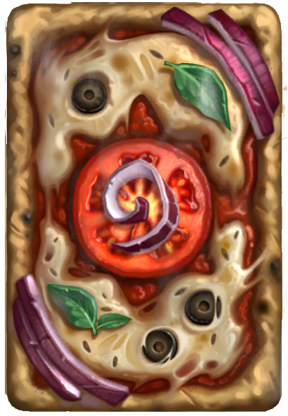 Verso de Pizza - Hearthstone 02