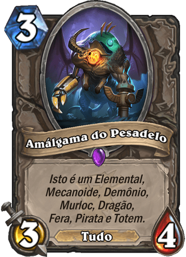 Amálgama do Pesadelo Card PTBR