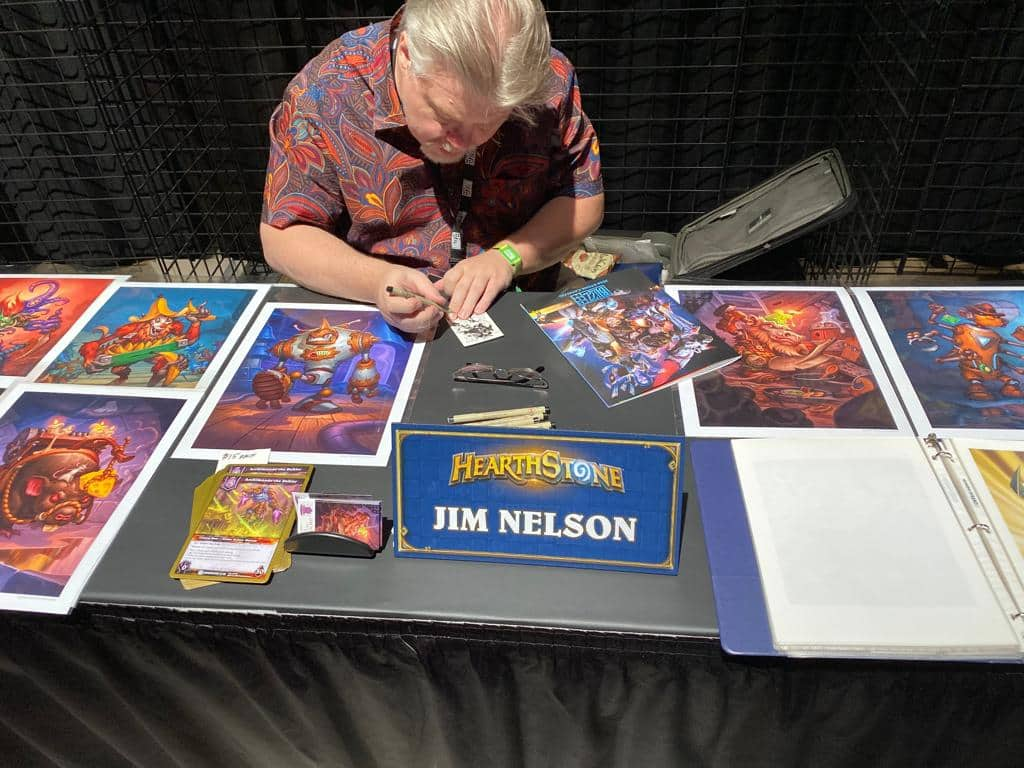 Blizzcon 2019 - Artist Alley - Jim Nelson
