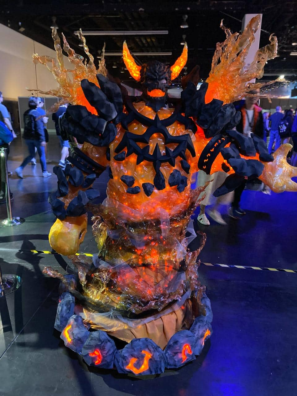 Cosplay do Ragnaros - Blizzcon 2019
