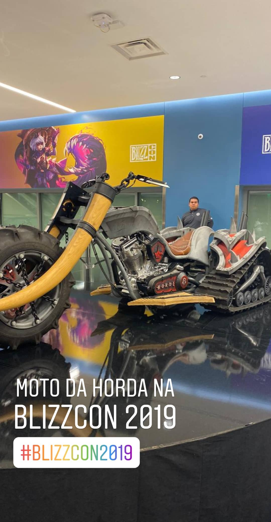 Motos de World of Warcraft na Blizcon 2019 - 02
