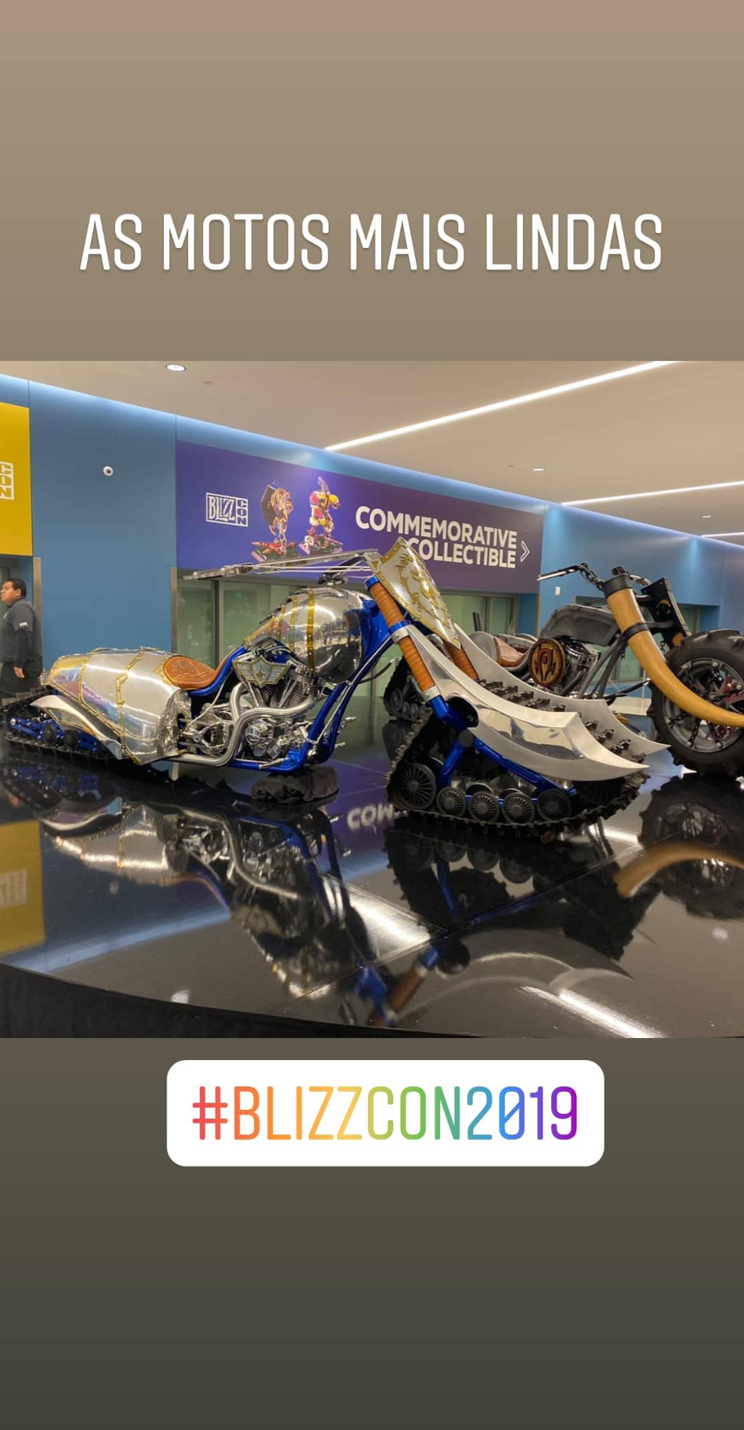 Motos de World of Warcraft na Blizcon 2019