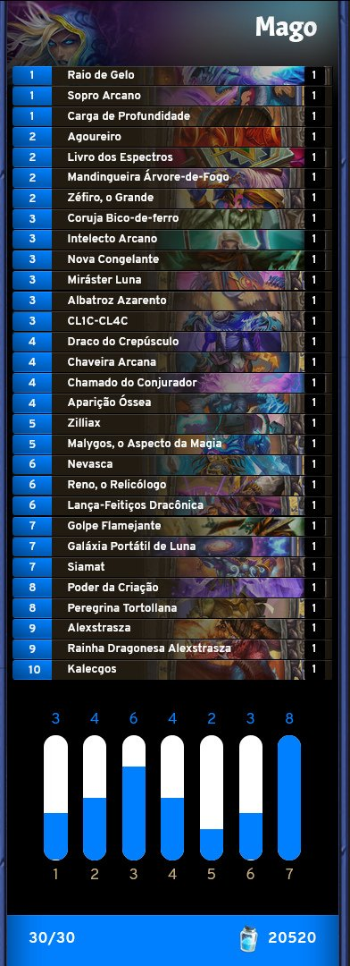 Deck de Mago Highlander 26-03 Canto do Morph