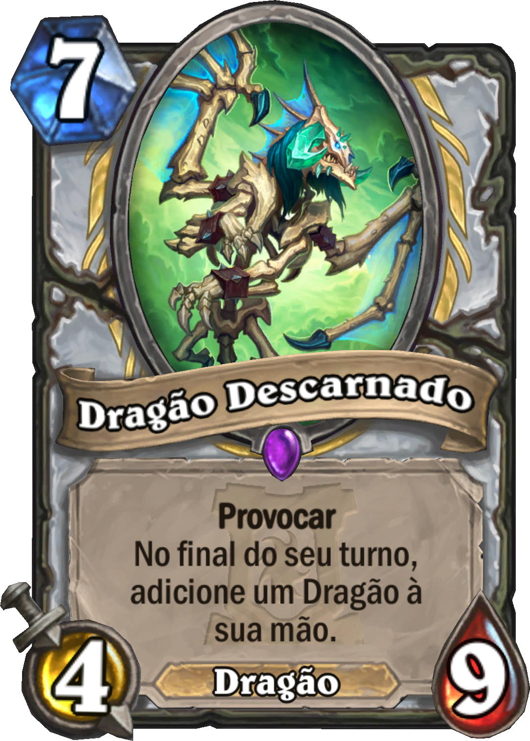 Dragão Descarnado