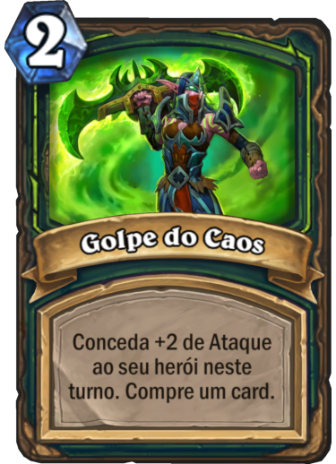 Golpe do Caos Card PTBR