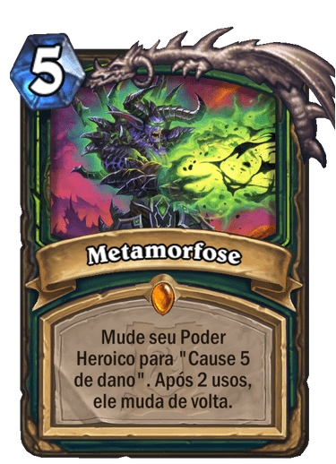 Metamorfose Card PTBR