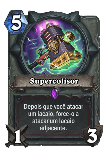 Supercolisor Card PTBR