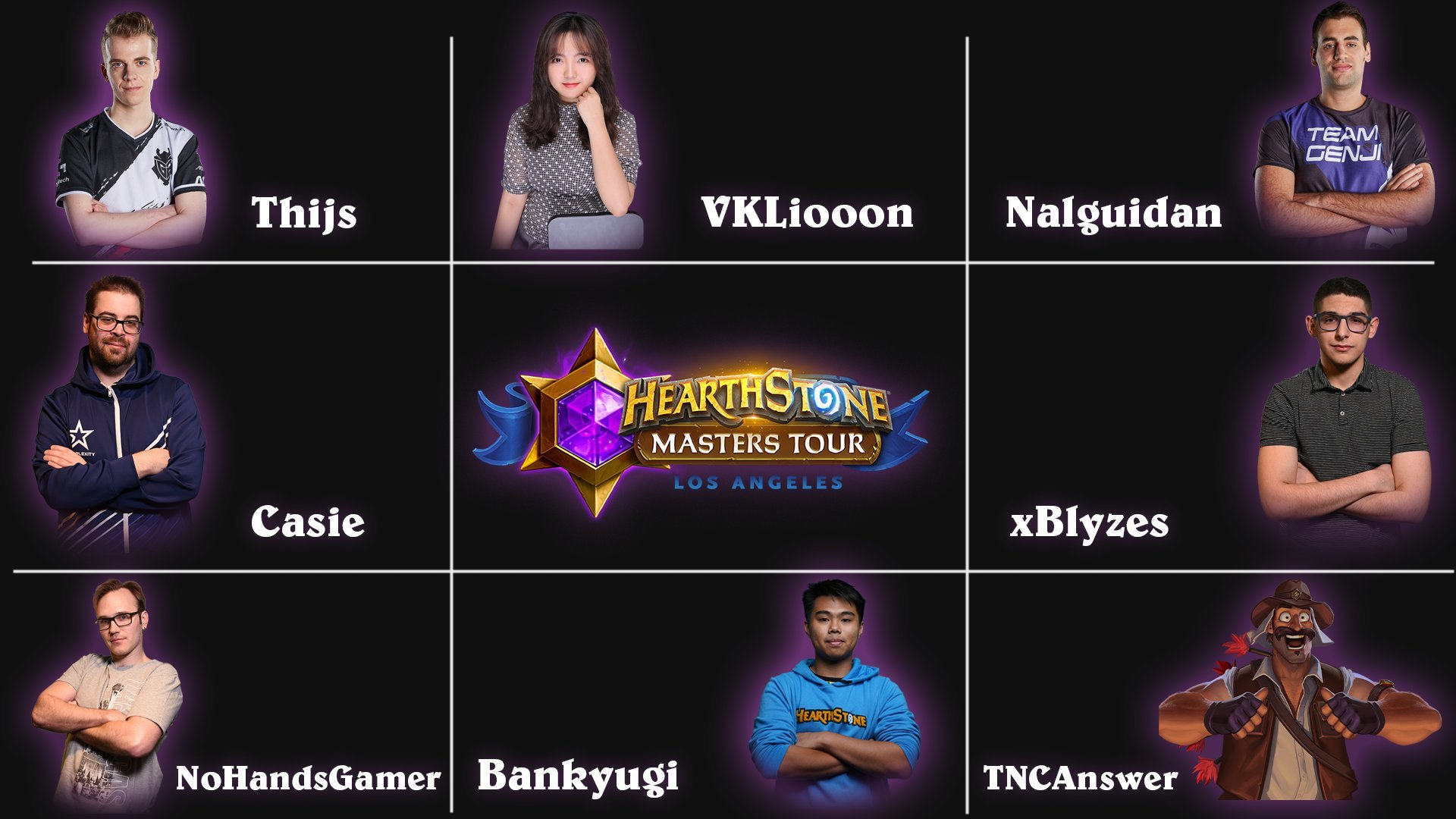 Top 8 Masters Tour Los Angeles - Hearthstone
