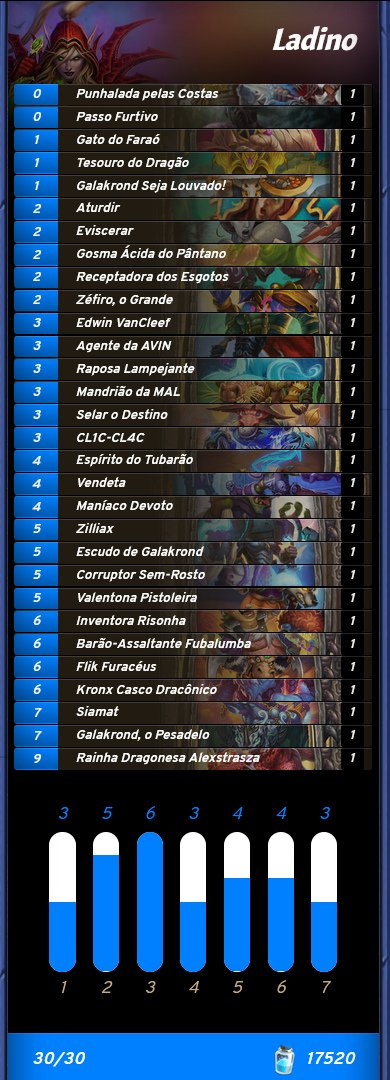 Deck de Ladino da Andafern - Classificatória da BPL