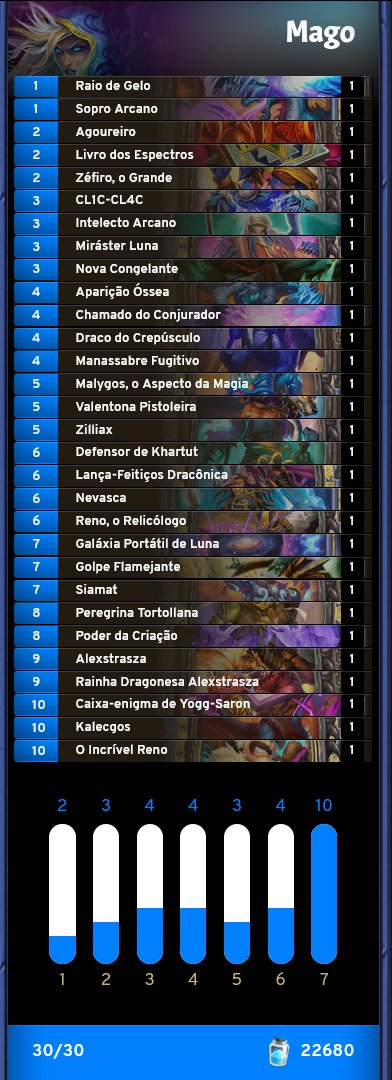 Deck de Mago do Torph - Classificatória da BPL