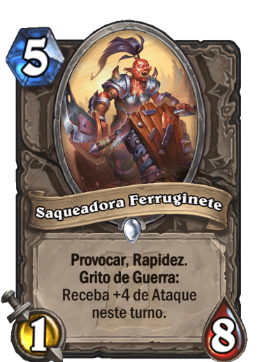 Saqueadora Ferruginete Card PTBR