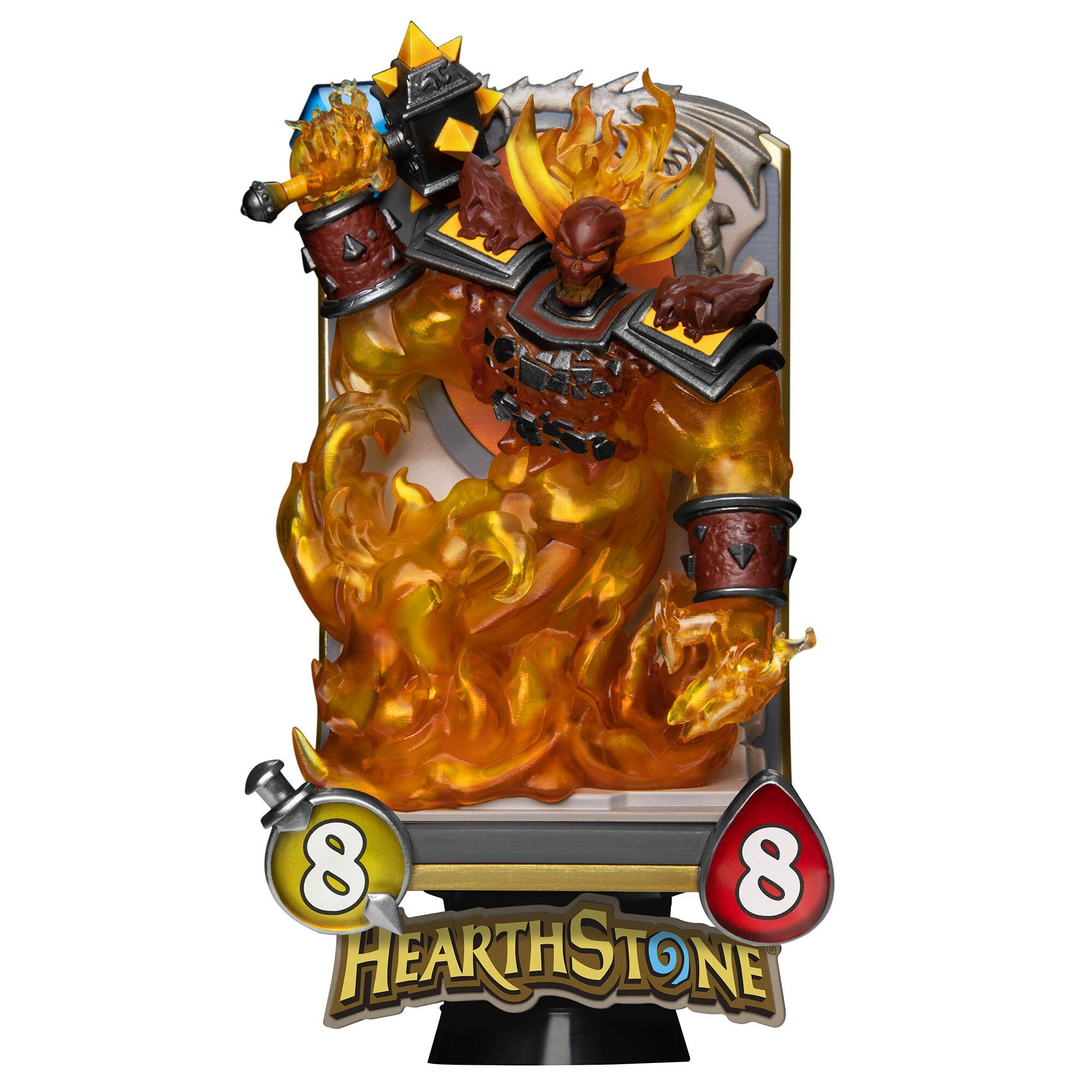 Estátua do Ragnaros Hearthstone 01
