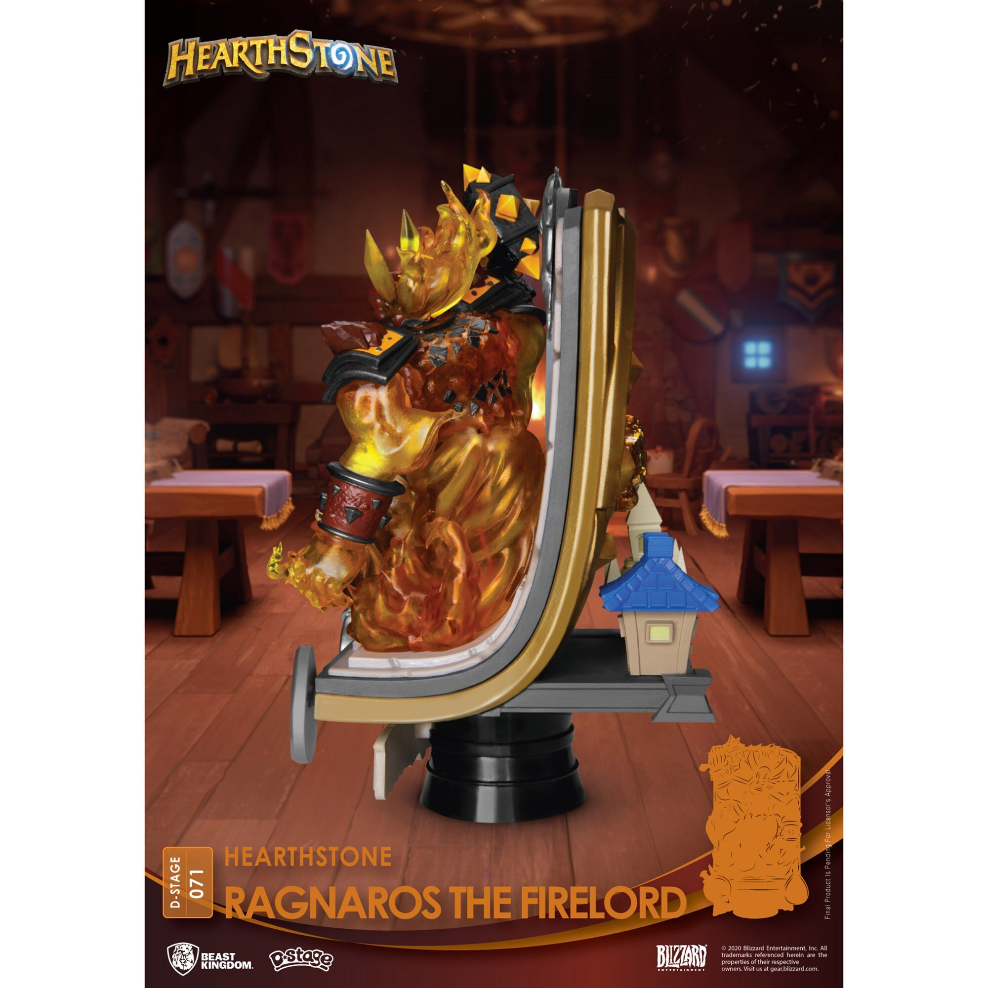 Estátua do Ragnaros Hearthstone 02