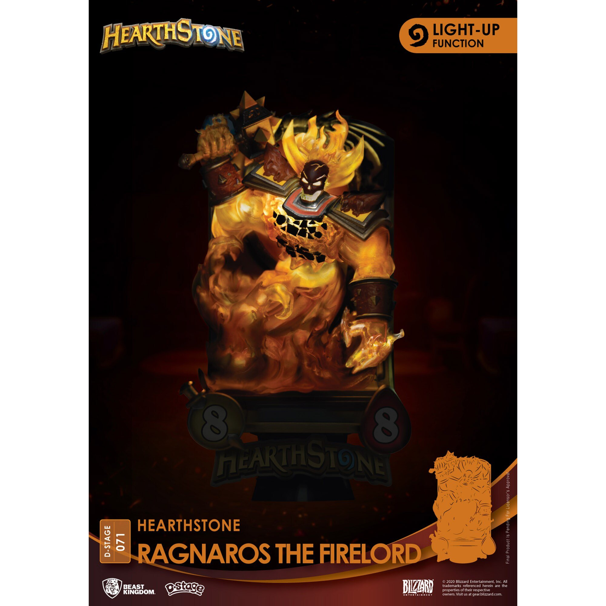Estátua do Ragnaros Hearthstone 03