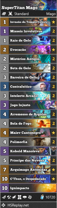 SuperTitan - Deck de Mago